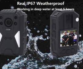 Body Camera with 4G+GPS+WIFI